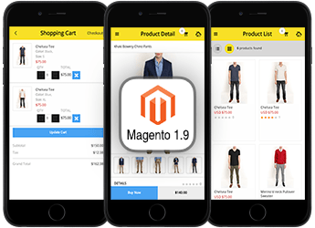 mobicommerce supports magento 1.9