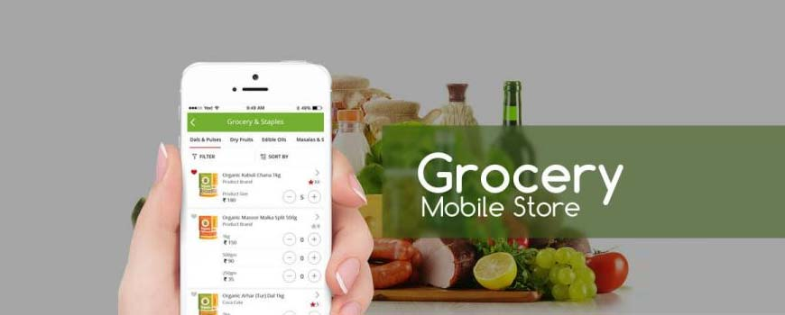 grocery store - mobicommerce
