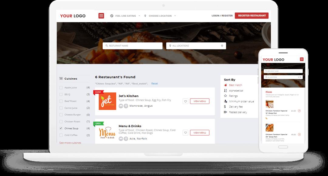 On-demand Food Delivery App & Website Builder | Restaurant