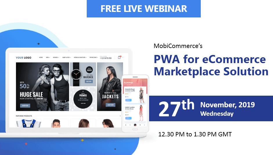 Webinar - PWA Marketplace Solution
