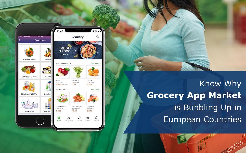 grocery app market European